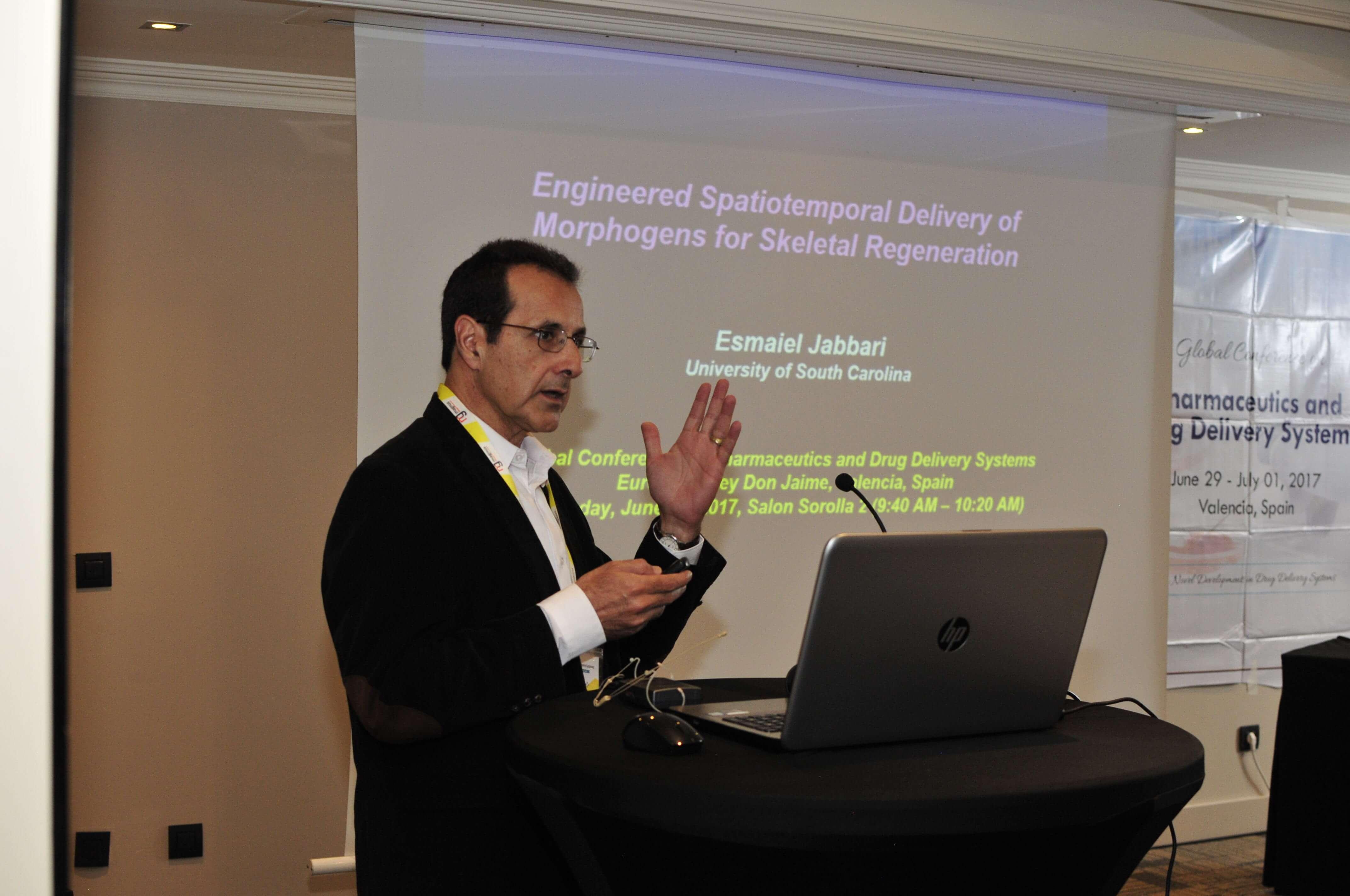 Leading speakers for Biotechnology summits-Esmaiel Jabbari