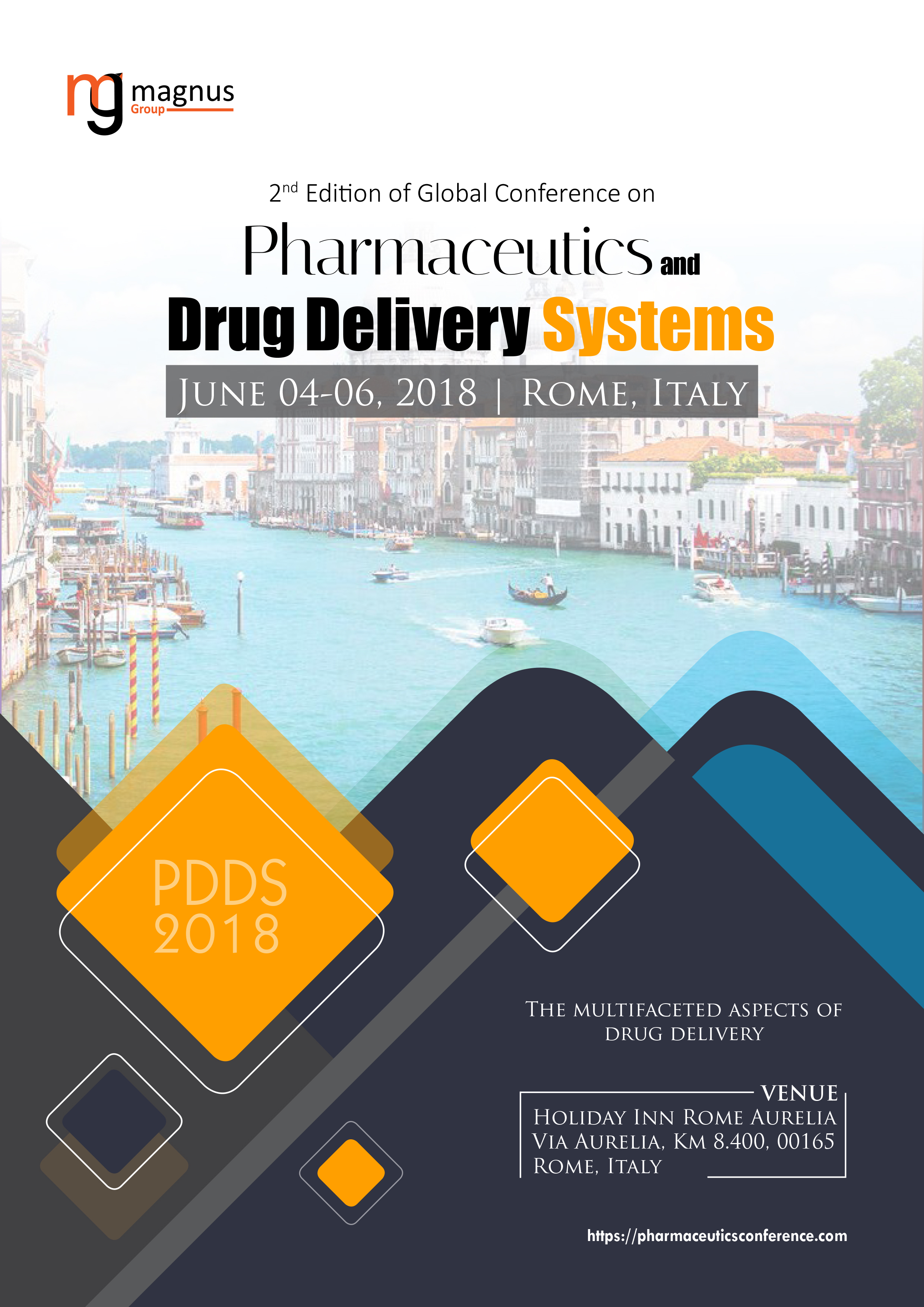Global Conference on Pharmaceutics and Drug Delivery Systems | Rome, Italy Event Book