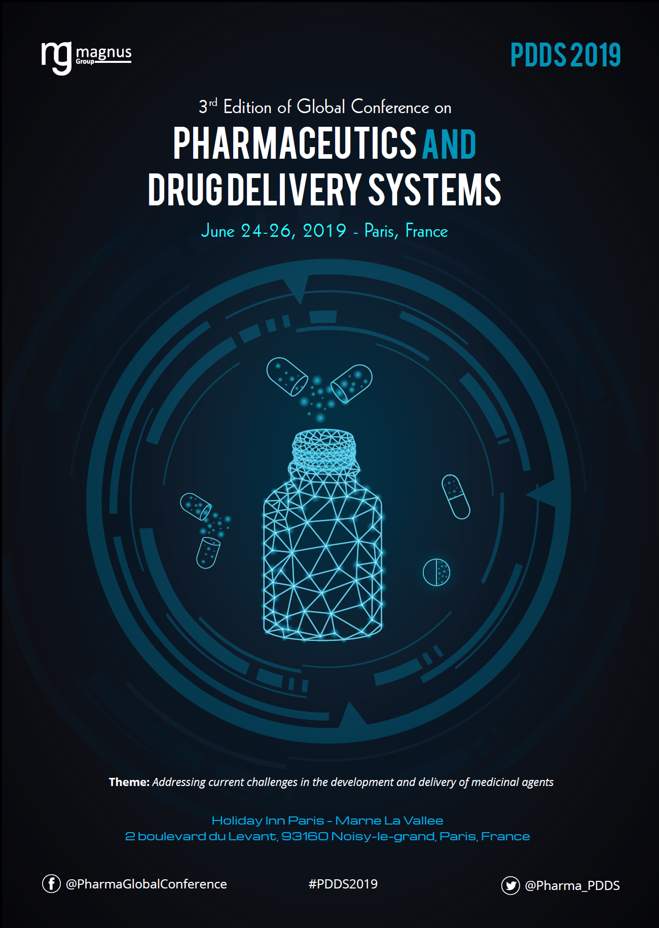 3rd Edition of Global conference on Pharmaceutics and Drug Delivery Systems | Paris, France Book