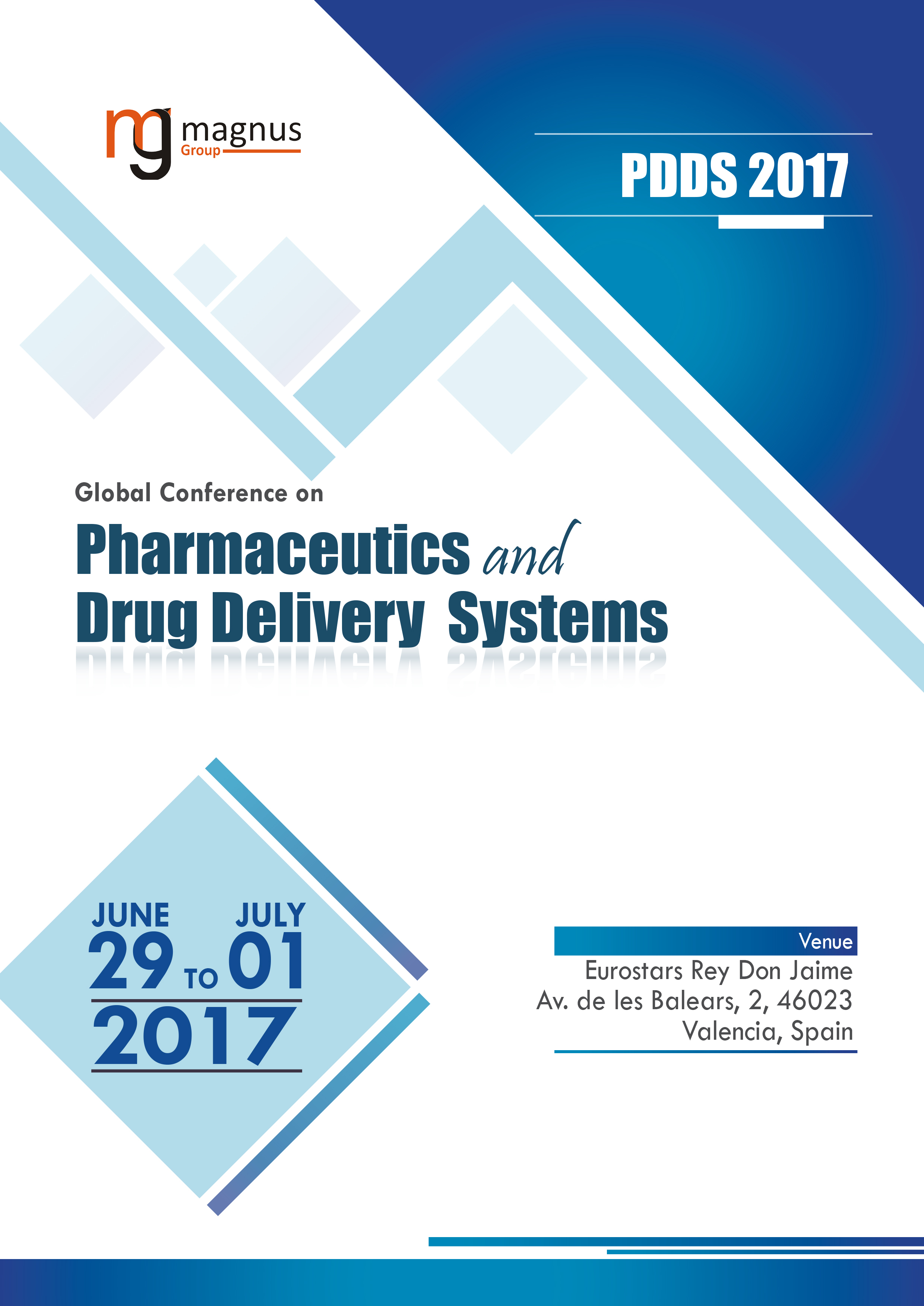 Global Conference on Pharmaceutics and Drug Delivery Systems | Valencia, Spain Book